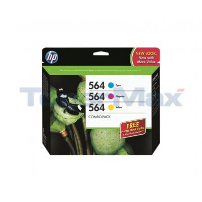 HP NO 564 INK CARTRIDGE COLOR COMBO PACK